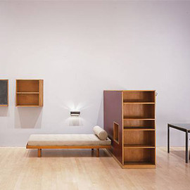 "Charlotte Perriand - Furniture for a room at ""Brazilian Pavillion"", Cite Unniversitaire, Paris"