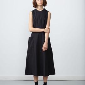 Studio Nicholson - Yoyogi Dress Black / 2015ss