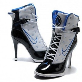 nike - Wonmons Air Jordan 6 Rings High Heels Black Blue