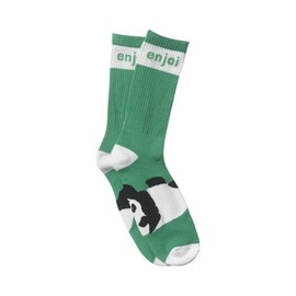 ENJOI - PANDA FEET SOCKS (Green)