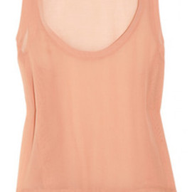 See by Chloé - Ruffled silk top