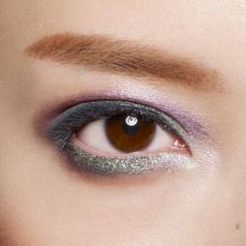 SHU UEMURA - green × purple eye make