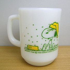 Fire King - Snoopy French Toast mug cup