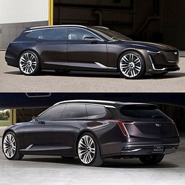 General Motors - Cadillac Escala Wagon Concept