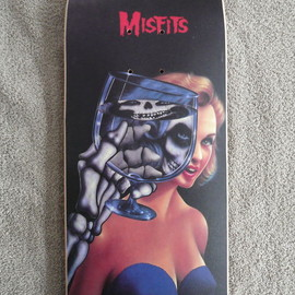 SCARECROW - MISFITS SKETEBOARD