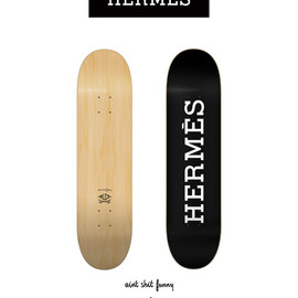 AIN'T SHIT FUNNY X MLCS, HERMES DECK - AIN'T SHIT FUNNY X MLCS – HERMÈS (INSPIRED) DECK