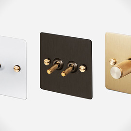 Buster Punch Light Switches and Dimmers