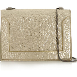 3.1 Phillip Lim - Metallic textured-leather shoulder bag