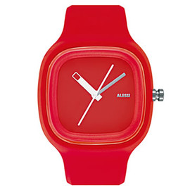 ALESSI - Kaj Watch (Red) by Karim Rashid