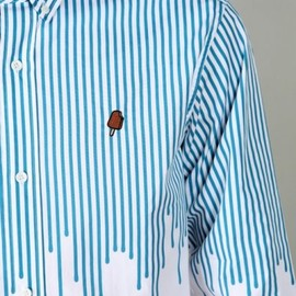 BILLIONAIRE BOYS CLUB - Ice Cream 'Drip' Button Down Shirt