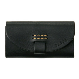 Black Leather Glass Case