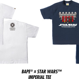 A BATHING APE - A BATHING APE® x STAR WARS™ IMPERIAL TEE