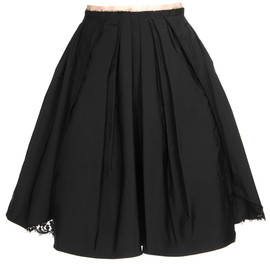 Nina Ricci - PLEATED RADZIMIR SILK SKIRT