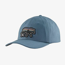 patagonia - Back for Good Trad Cap - Pigeon Blue w/Wolf PBLW