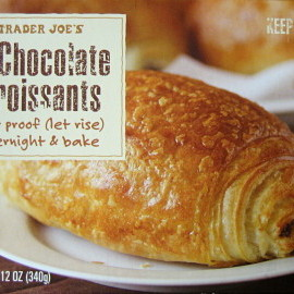 Trader joe's - chocolate croissants