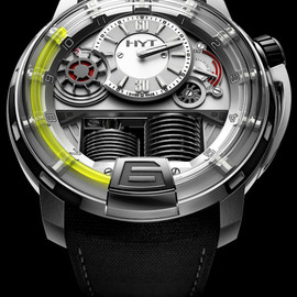 HYT - HYT H1 watch 6 HYT H1 Hydro Mechanical Watch