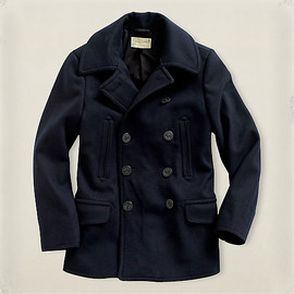RRL - Wool Melton Pea Coat
