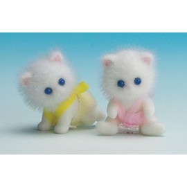 Sylvanian Families - Persian Cat Twin Babies