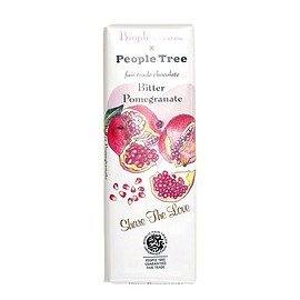 Biople by cosmekitchen × People Tree - フェアトレードチョコレート ビター・ザクロ