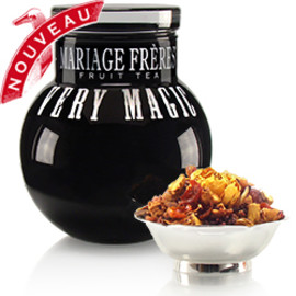 Mariage Frères - VERY MAGIC® - FRUIT TEA  Black glass ball-jar