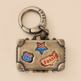 Fossil - Suitcase Charm