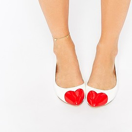 ASOS - Image 1 of ASOS LONG FOR Ballet Flats