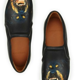 givenchy - rottweiler slipon skate shoe