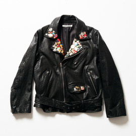beautiful people - 1st anniversary special pins riders jacket