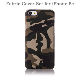 Simplism - Fabric Cover Set for iPhone 5c