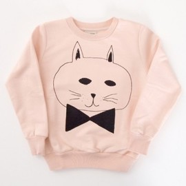 BOBO CHOSES - Sweat Shirt Round NecK Cat