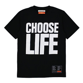 KATHARINE HAMNETT - KEH×T2 CHOOSE LIFE T BLACK