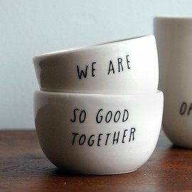 Shanna Murray for Pigeon Toe - Good Together Stacking Vessels