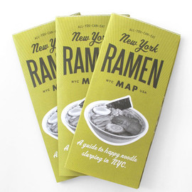 All-You-Can-Eat Press - New York Ramen Map