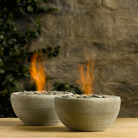 Restoration Hardware - River Rock Fire Bowl Tabletop