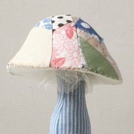 Ann Wood - quilt toadstool