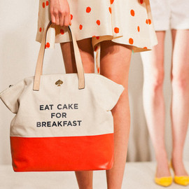 "kate spade NEW YORK - ""EAT CAKE FOR BREAKFAST"" TERRY"