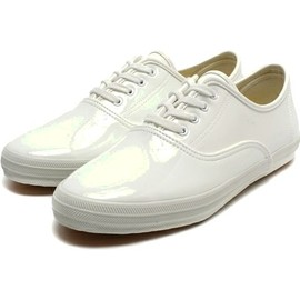 Keds - champion oxford ENAMEL/WHITE