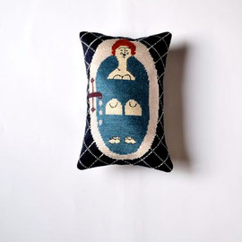 KasiaUrbanRybska - LADY in BATH Pillow handmade