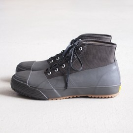 STUSSY Livin' - GS Rain Shoes by Moonstar #gray