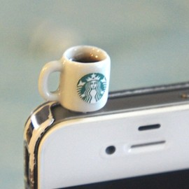 Starbucks Coffee Mug iPhone Plug