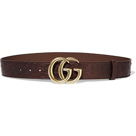 Gucci - Ostrich belt