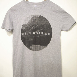 """Second Royal - Wild Nothing - """"Mountain"""" T-SHIRTS"""