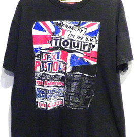 Sex Pistols anarchy in the UK tour T-shirt