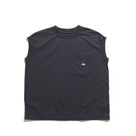 THE NORTH FACE PURPLE LABEL - 7oz N/S Pocket Tee-Charcoal