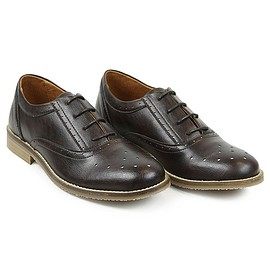 Will's London - Vegan Oxford Lace-up Womens Non-Leather Shoe