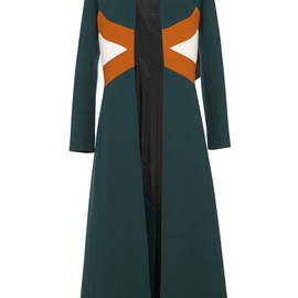 MARNI - Resort2015 Hunter Green Duster Coat