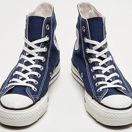 CONVERSE, 日本製 - ALL STAR J HI NAVY CANVAS