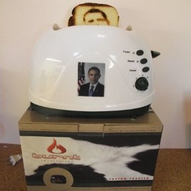 Burnt Impressions - Obama Toaster