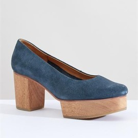 creatures of comfort - A Detacher Morris Platform Pumps-Blue