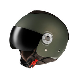 DIESEL - MOTORCYCLE BIKE AGV HELMET DIESEL MOWIE SOLID MATT GREEN MEDIUM
